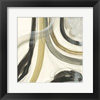 Neutral Lines II Framed Print
