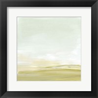 Intangible Horizon I Framed Print