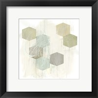 Honeycomb Reaction I Framed Print