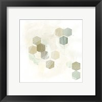Honeycomb Reaction II Framed Print