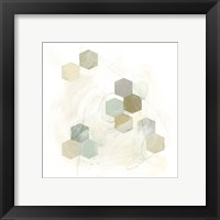 Honeycomb Reaction III Framed Print