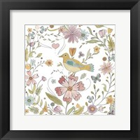 Happy Garden II Framed Print