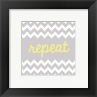 Repeat Framed Print