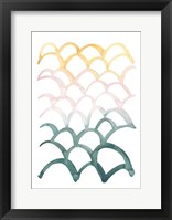 Mermaid Scales II Framed Print