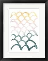 Mermaid Scales II Framed Print
