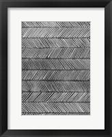 Modern Monochrome I Framed Print