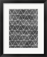 Modern Monochrome II Framed Print