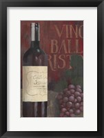Wine Still Life I Framed Print