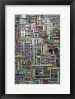 Stack I Framed Print