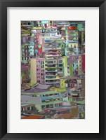 Stack III Framed Print