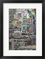 Stack IV Framed Print