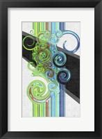 Twirl I Framed Print
