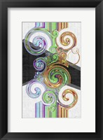 Twirl III Framed Print