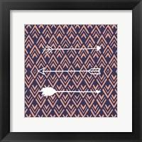 Deco Arrow I Framed Print