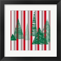 Oh Christmas Tree III Framed Print