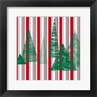 Oh Christmas Tree III Framed Print