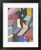 Rooftops in Color V Framed Print
