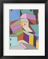 Framed Rooftops in Color VIII