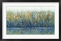 Wildflower Reflection I Framed Print