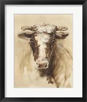 Western Ranch Animals II Framed Print