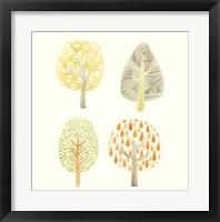 Forest Patterns I Framed Print