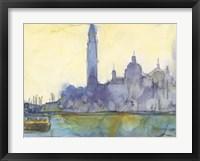 Framed Venice Watercolors VI