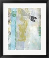 Serene Dragonfly I Framed Print