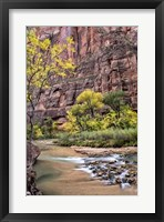 Zion Autumn II Framed Print