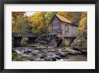 The Mill & Creek I Framed Print