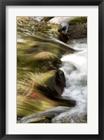 Water Abstract I Framed Print