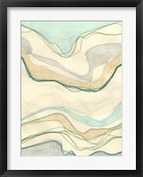 Ocean Cascade I Framed Print