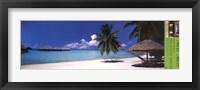 Framed Bora Bora Tahiti
