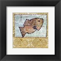 Framed Mosaic Fish II
