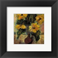 Framed Fleurs d'Automne III