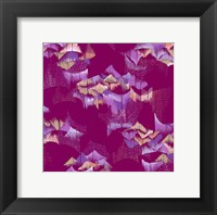 Framed Purple Scales