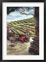 Framed Wine Vendor