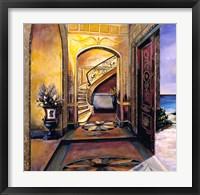 Framed Foyer Of Gold