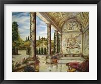 Framed Villa Angelica