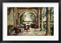 Framed Oasis In The Garden