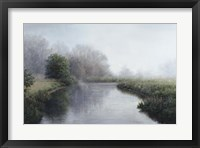 Framed Foggy River