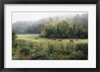 Framed Vermont Pasture