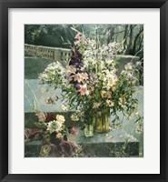 Framed Flowers in Gallery