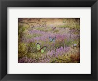 Framed Butterfly Garden