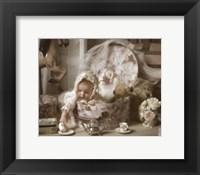 Framed Victorian Baby