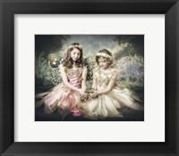 Framed Frog and Princesses