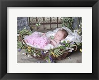Framed Sleeping Baby