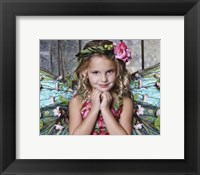 Framed Beautiful Fairy