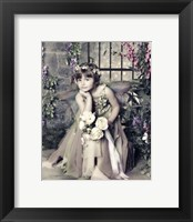 Framed Fairy in Garden