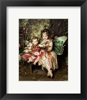 Framed Victorian Fairies