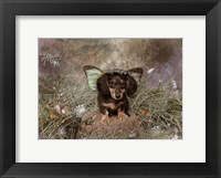 Framed Fairy Dog